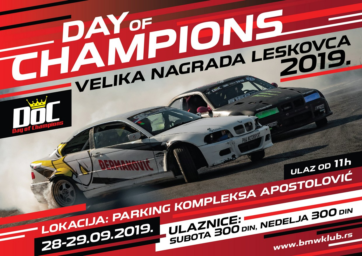 Day of Champions - Velika nagrada Leskovca 2019